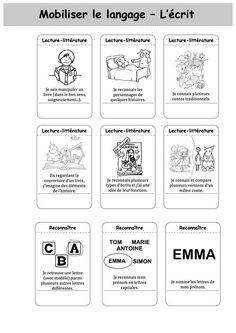 Voici le carnet de suivi que nous avons réalisé avec ma collègue. C'est un mix entre tous les carnets de suivi trouvés ici(charivari) et là(orphée). Nous avons précisé des compétences qui nous semblai Cycle 1, Ms Gs, Preschool Activities, Back To School, Notebook, Bullet Journal, Teaching, Blog, Ps