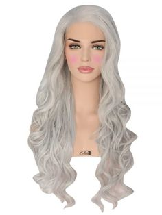 Heat safe synthetic Lace Front wig long density Made of soft synthetic fiber Can be styled with hot […] Powder Room D, Synthetic Lace Front Wigs, Androgyny, Halloween Costumes, Costume Ideas, Fiber, Hot, Updos, Style