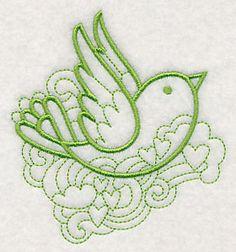 Embroidered Doodle Bird Flour Sack Towel / Hand Towel / Bath Towel  / Apron Your COLOR CHOICE by misty1718 on Etsy