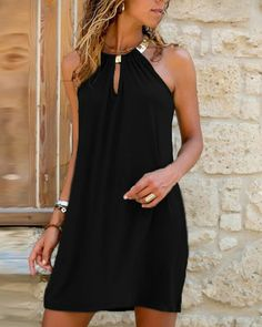 Trend Fashion, Women's Summer Fashion, Style Casual, Casual Wear, Casual Shorts, Summer Dresses For Women, Dress Brands, Dresses Online, Clothes