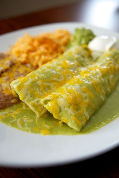 Make some spinach enchiladas using a recipe from one of L.A.'s most popular restaurants. They're so easy!