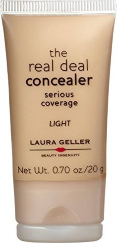 Laura Geller Real Deal Concealer  Light >>> Tried it! Love it! Click the image. : Best Concealer