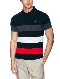 Matthew Stripe Jersey Polo by J Lindeberg Golf at Gilt