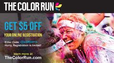 The Color Run: The Happiest And Most Colorful 5k Run On The Planet (get $5 Off…
