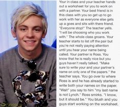 Ross imagine made by me (@r5jessica). This is my first imagine ever so tell me what you guys think