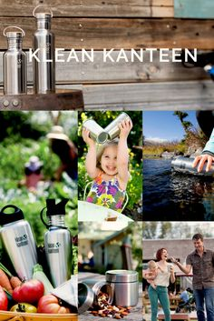 Fall in love with Klean Kanteen's reusable bottles!