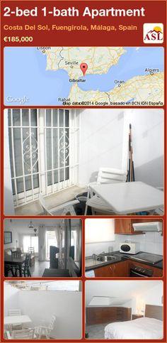 2-bed 1-bath Apartment in Costa Del Sol, Fuengirola, Málaga, Spain ►€185,000 #PropertyForSaleInSpain