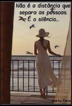 VERDADE>>>O SILENCIO SEPARA .........