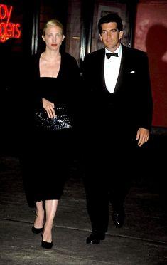 The late Mr. & Mrs. John Kennedy Jr (wife Carolyn Bessette-Kennedy) - 1998 Municipal Art Society