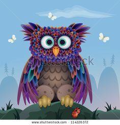 Colourful Vector Butterfly Vector Illustration Stok Fotoğraflar, Görseller ve Resimler | Shutterstock