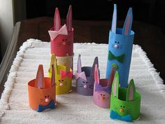 Easter Craft - toilet paper rolls!