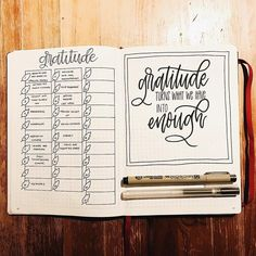 11 Inspiring November Bullet Journal Ideas | they work year-round, so you can keep practicing gratitude long after the holiday celebrations are over. If you need a little inspiration on how to track the things you're thankful for in your bullet journal this holiday season, look no further: These layouts are as functional as they are Instagram-worthy.