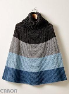 20+ Free Crocheted Poncho Patterns Mais