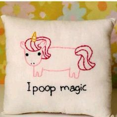 "hahaha! So for some reason, my daughter says unicorns poop rainbows. So one night I asked her, ""So when they fart is it glitter and confetti?"" She laughed so hard there was no noise or breathing!! LOL!!!"