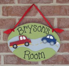 Custom Personalized Name or Word Oval Sign for by lisabees on Etsy, $29.95