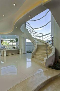 Pasillo, hall y escaleras de estilo translation missing: mx.style.pasillo-hall-y-escaleras.moderno por Arquiteto Aquiles Nícolas Kílaris
