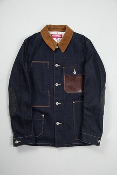 Junya Waranabe Indigo Denim Levi's Work Jacket