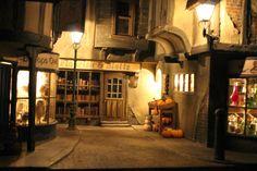 Tiny Treasures: Diagon Alley ~ At Night