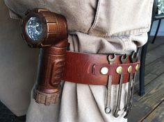 Steampunk Leg Tool Belt by on DeviantArt Steampunk Mechanic, Steampunk Belt, Steampunk Costume, Steampunk Clothing, Steampunk Fashion, Woman Mechanic, Mechanic Tools, Female Superhero, Accessories