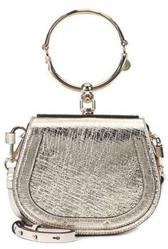 733f96920ac Chloé Small Nile leather bracelet bag