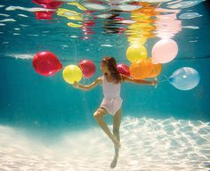 Balloons magic by Elena Kalis
