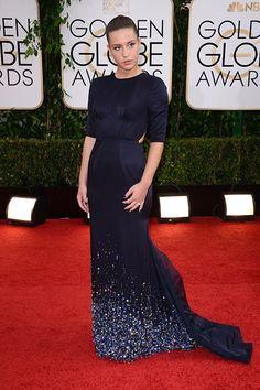 Golden Globes 2014: Adèle Exarchopoulos in a Miu Miu gown.
