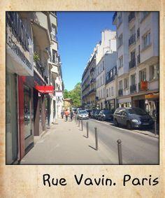 Rue Vavin. Paris