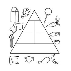 Food Pyramid Coloring Page . 24 Food Pyramid Coloring Page . Food Pyramid with Healthy and Fresh Food Coloring Pages Healthy Soup Vegetarian, Healthy Vegan Breakfast, Healthy Work Snacks, Healthy Foods To Eat, Healthy Kids, Healthy Dinner Recipes, Healthy Eating, Food Coloring Pages, Online Coloring Pages