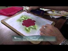 Mulher.com 11/04/2013 Luis Moreira - Pintura em tecido Parte 1 - YouTube