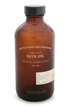 Boticario de Havana Bath Oil
