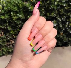 72 Fabuluous Spring Nails Design Ideas That Blow Your Mind 2019 Trendy Spring Nail Designs for 2019 It's time to check out the latest spring nail designs as spring is on the way. Nail art is just as trendy as eve. Spring Nail Art, Nail Designs Spring, Spring Design, Acrylic Nails For Spring, Best Acrylic Nails, Acrylic Nail Designs, Gel Nagel Design, Aycrlic Nails, Coffin Nails