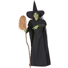 Gemmy Musical Animatronic Witch and Cauldron Outdoor Halloween Decoration$149.00