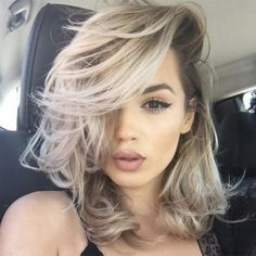 Grey Hair Colour. For more ideas, click the picture or visit www.sofeminine.co.uk