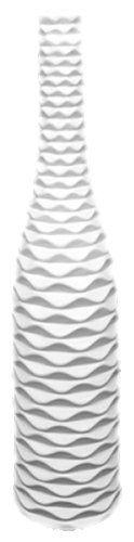 Amazon.com - UTC 20109 White Ceramic Vase with Matte - Decorative Vases
