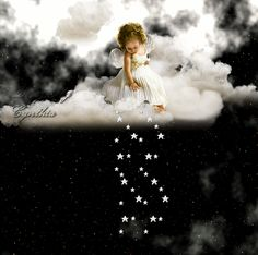 The perfect Angel Anjos Anjo Animated GIF for your conversation. Discover and Share the best GIFs on Tenor. I Believe In Angels, Falling Stars, Angel Dust, Angel Pictures, Angels Among Us, Angels In Heaven, Guardian Angels, Sweet Dreams, Good Night