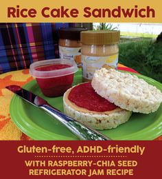 ... raspberry chia seed refrigerator jam recipes - almond butter - cashew