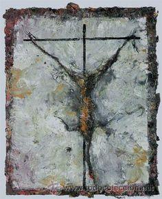 miquel barceló / crucifixión. obra gráfica impr - Comprar Litografías en todocoleccion - 27365968