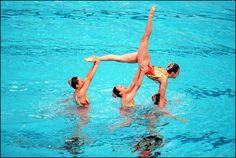 Sydney Olympics synchronized swimming in Sydney Australia on September 30 2000 Japan team