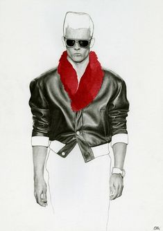 Richard Kilroy Fashion Illustrations Liverpool-born Richard Kilroy's work is recognised for it's combination of photorealist aspects and loose and suggestive line. His menswear illustrations are. Autumn Illustration, Fashion Illustration Sketches, Fashion Sketchbook, Fashion Sketches, Portrait Illustration, Fashion Prints, Fashion Art, Male Fashion, Man Sketch
