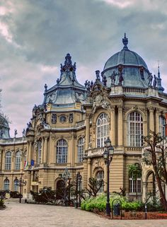 Museum of Hungarian Agriculture/Magyar Mezőgazdasági múzeum Neoclassical Architecture, Historical Architecture, Amazing Architecture, Places Around The World, Around The Worlds, Places To Travel, Places To Visit, European City Breaks, Hungary Travel