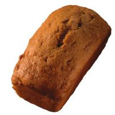 Over the river and through the woods, to grandmother's house we go! She'll be pleased to receive these spice flavored pumpkin breads. She'll have some to share now and later!