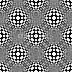 abstrakte schwarz-weiß Hintergrundmuster — Stockilllustration #7668981