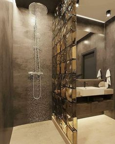 Washroom Design, Toilet Design, Bathroom Design Luxury, Bathroom Layout, Modern Bathroom Design, Small Bathroom Interior, Home Room Design, Home Interior Design, Ideas Baños