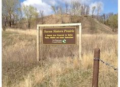 """In west-central #Minnesota's Otter Tail County, the """"mountain"""" of Seven Sisters Prairie rises 190 feet above Lake Christina. Visitors can marvel at the panoramic views of the lake the surrounding countryside and the rolling topography. #Evansville, MN"""