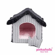 Muffy Dog House by Pinkaholic - Black
