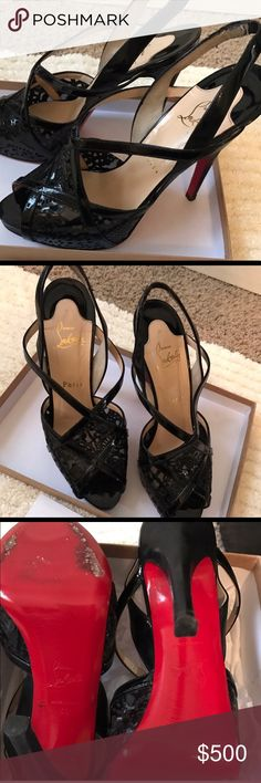 Christian Louboutin Gorgeous CL's. Size 8.5 comes with dust bag and box. Christian Louboutin Shoes Heels