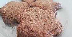 Αμυγδαλωτά μπισκότα με βρώμη & στεβια