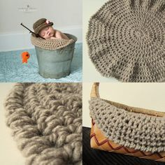Newborn fishermans hat and fish.  What do you think @Andrea / FICTILIS / FICTILIS Keivel Durham ?