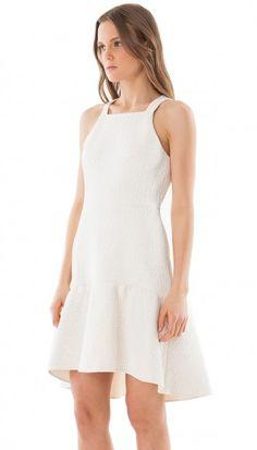 Cloque Dress