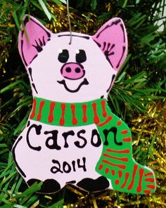Hey, I found this really awesome Etsy listing at https://www.etsy.com/listing/198650770/u-choose-name-date-personalized-pig